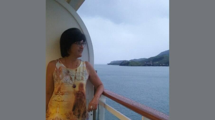 Na primeira viagem, Claudia ganhou um upgrade no MSC Armonia