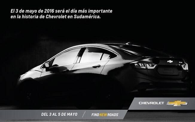 Comunicado da GM confirma data de lançamento do novo Cruze para a imprensa da América do Sul