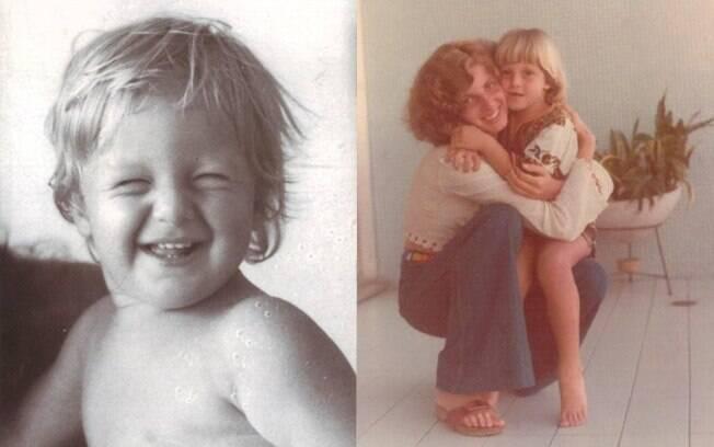 Luciano Huck posta foto saudosista no Facebook de quando era criança