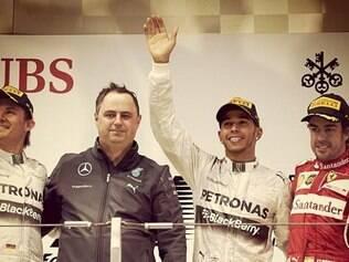 Fernando Alonso, contudo, evitou qualquer empolgação com o resultado deste domingo