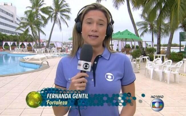 Fernanda Gentil: telespectadores pedem fim da 'escravidão' para repórter