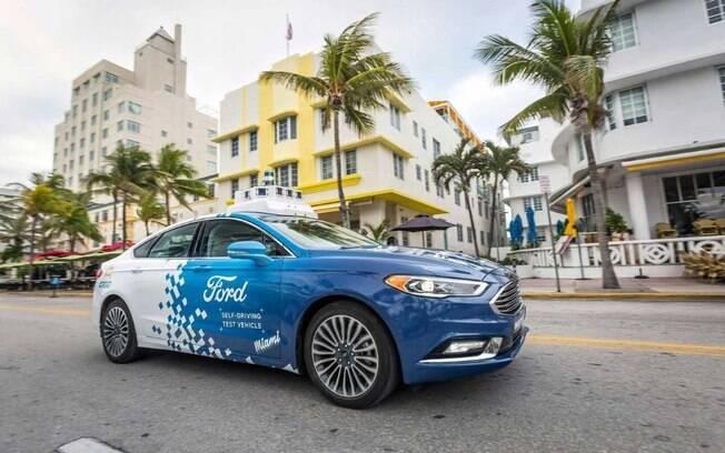 A Ford já faz uma série de testes com carros autônomos nos Estados Unidos em níveis variados de automação