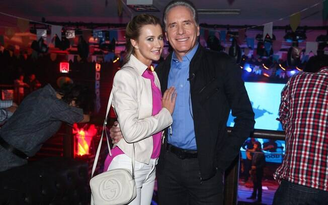 Roberto Justus e a namorada, Ana Paula Siebert
