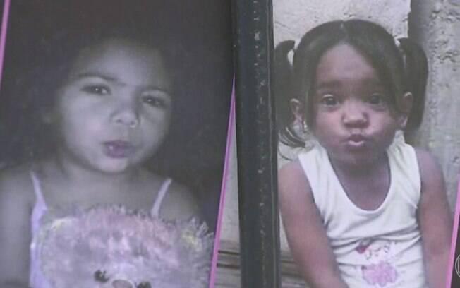 Corpos de crianças desaparecidas foram encontrados no último dia 12; Bia (esq.) e Mel (dir.) tinham 3 anos de idade