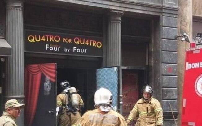 Bombeiros saíram do local desacordados e foram encaminhados ao Hospital Municipal, no centro do Rio.