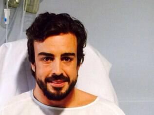 O espanhol sofreu uma concussão ainda está em observação no hospital da Catalunha