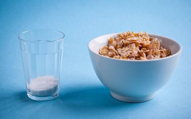 Uma tigela com 60 gramas de cereal matinal contém18 gramas de açúcar, quase um quarto do peso total. Foto: Edu Cesar/Fotoarena