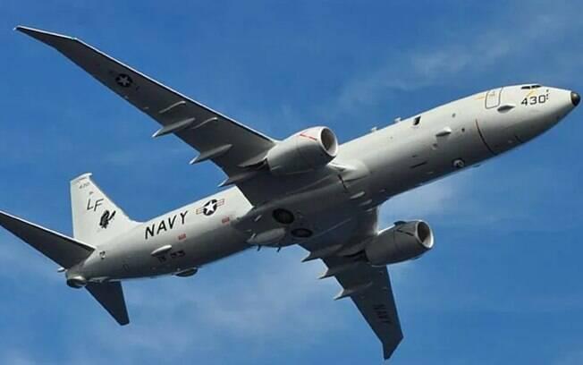 Avião do modelo P8 foi atingido por laser disparado por navio de guerra chinês