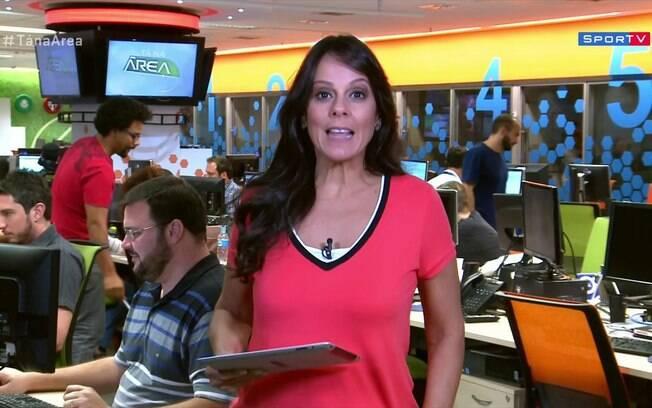Fabíola Andrade, repórter da Globo, nega assédio