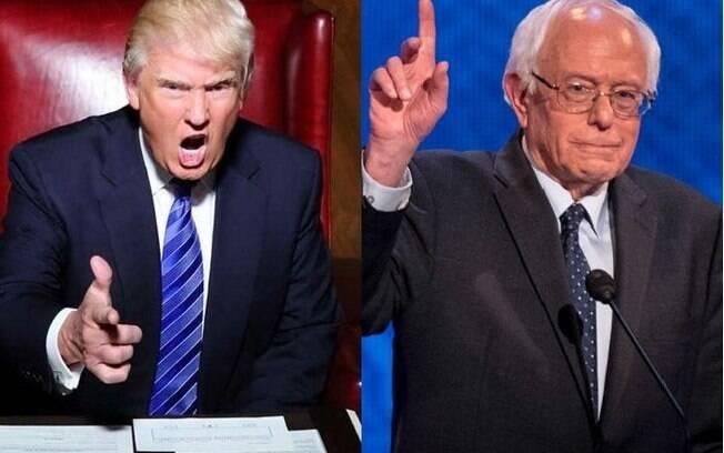 Trump e Sanders vencem as primárias de New Hampshire