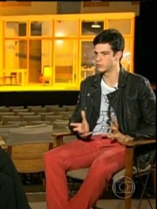 Mateus Solano fala sobre seu personagem em 'Amor à Vida' ao 'Fantástico'