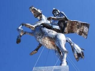 Escultura foi criada por torcedor corintiano e doada ao clube paulista