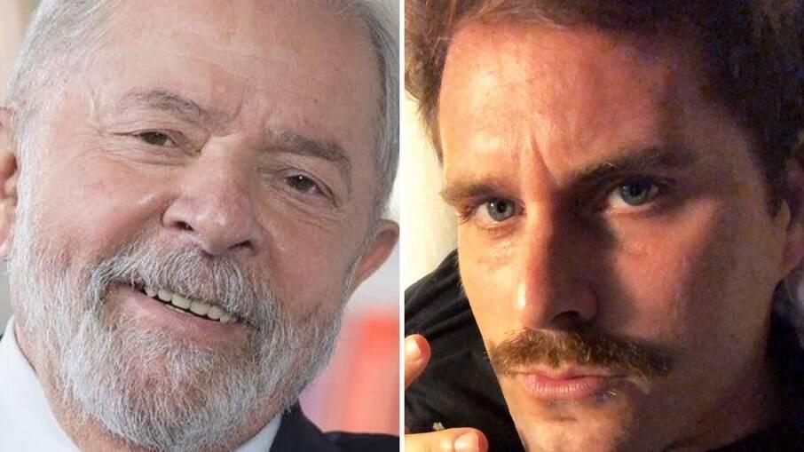 Luiz Inácio Lula da Silva e Thiago Gagliasso