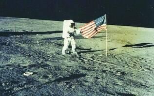Vídeo da NASA mostra visão inédita de Neil Armstrong em pouso na Lua