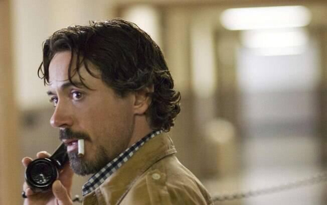 Downey Jr. em 'Zodíaco' (2007). Foto: Divulgação