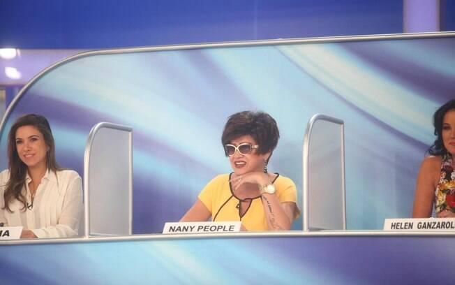 Patricia Abravanel e Nany People no 'Jogo dos Pontinhos' deste domingo (25)