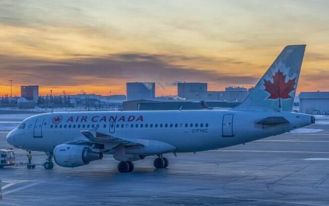 avião air canada