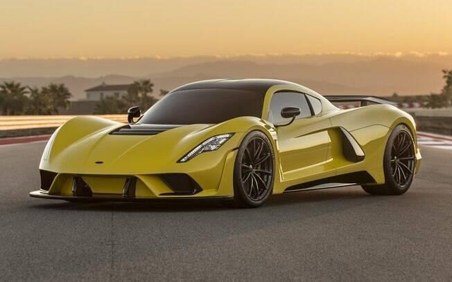 Hennessey Venom F5: novo supercarro é capaz de percorrer pouco mais de um campo de futebol por segundo
