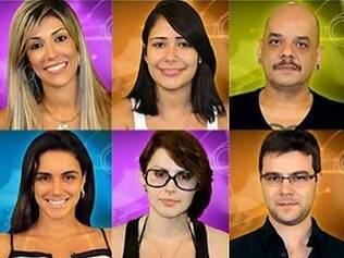 Integrantes do BBB12