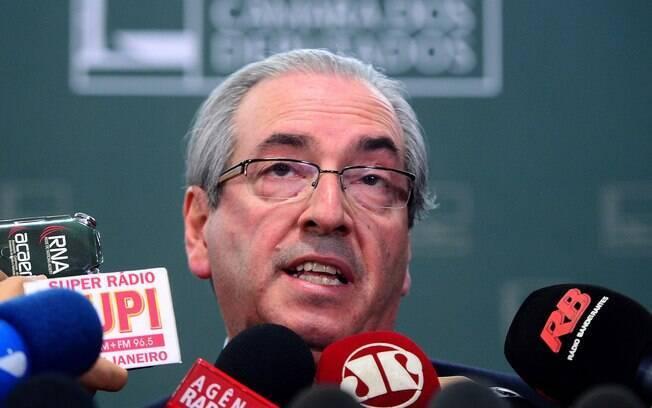 Como defesa, Cunha diz ser vítima de ataques do Planalto e da PGR. Foto: Wilson Dias/Agência Brasil