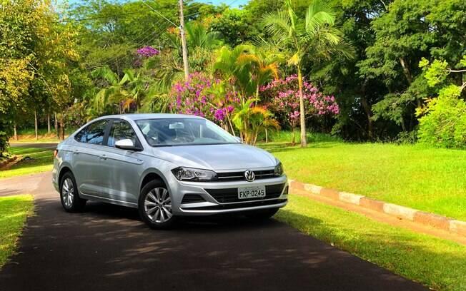 Volkswagen Virtus: o sedã compacto mais vendido em junho superou até o Chevrolet Prisma e já mais mais de 51% de seu nicho de mercado.