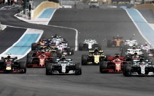 Ações da Fórmula 1 caem US$ 300 milhões por conta do coronavírus