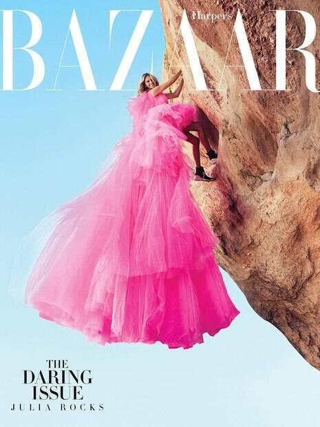 Julia Roberts estrela as páginas da BAZAAR de novembro