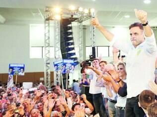 Líder. Com um de seus melhores desempenhos regionais, Aécio teve 49% dos votos dos paranaenses