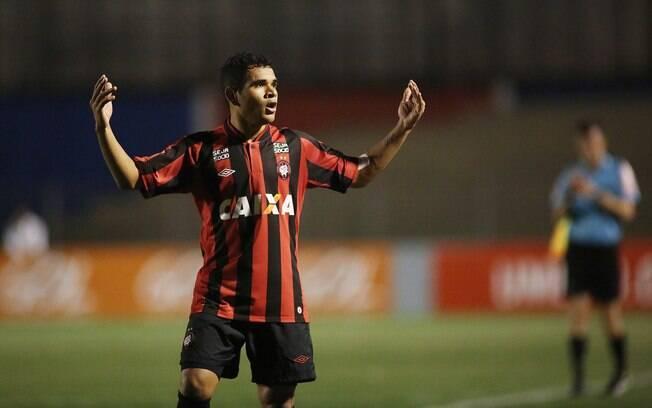 Pelo Atlético-PR, Ederson foi o artilheiro do Brasileirão de 2013 com 21 gols