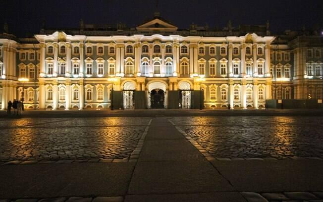 Palácio de Inverno foi residência de reis e rainhas por mais de 100 anos