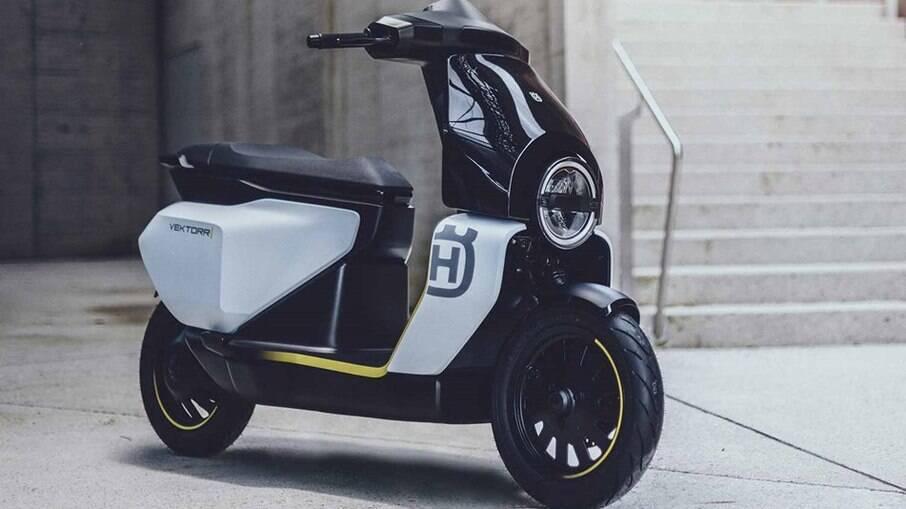 Husqvarna Vektorr atinge velocidade final de 45 km/h e autonomia de até 95 km, de acordo com a fabricante