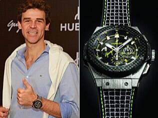 Guga assina relógio de R$ 65 mil