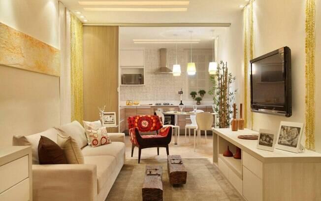 Salas poderosas transformam a casa decora o ig for Salas pequenas economicas