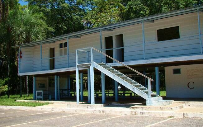 O Catetinho foi a primeira residência oficial do presidente Juscelino Kubitschek