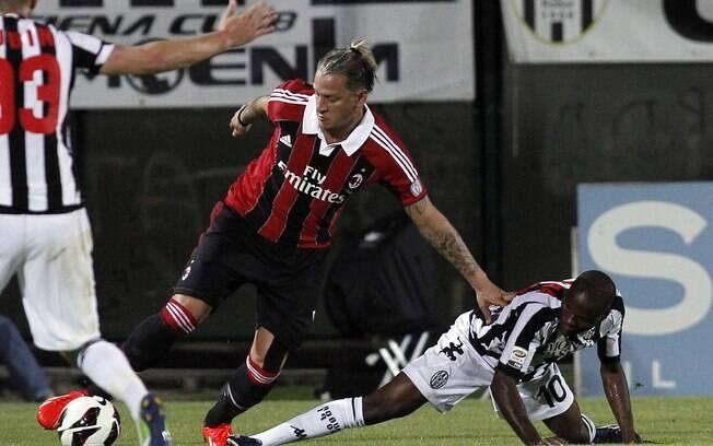 Mexes marcou o gol da classificação do Milan