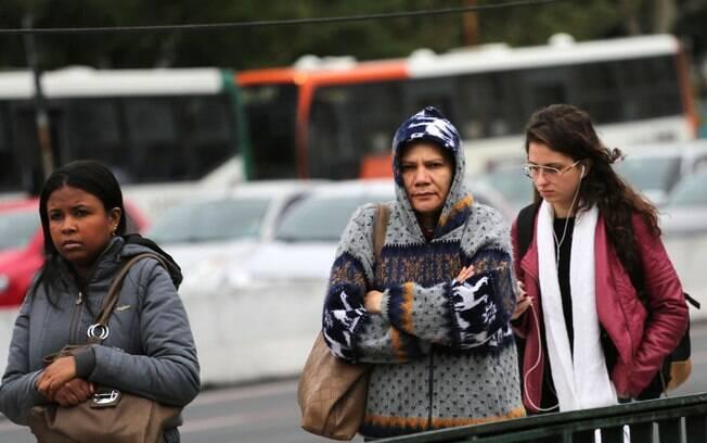 Moradores da região Sul e Sudeste devem tirar o casaco do armário no feriado do Dia do Trabalho
