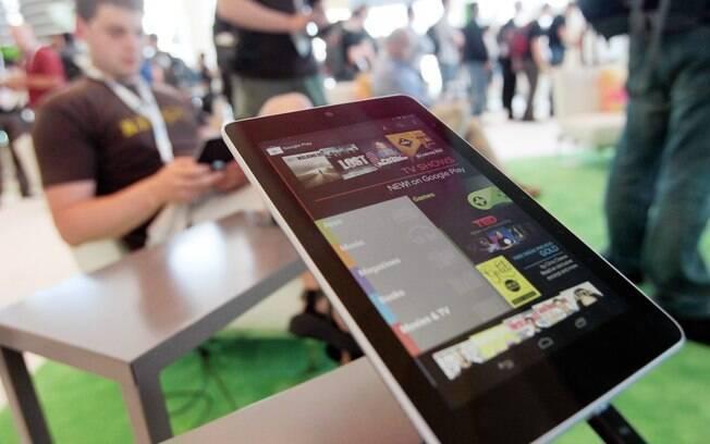 Nexus 7, do Google: demanda maior que a esperada coloca freio nas vendas