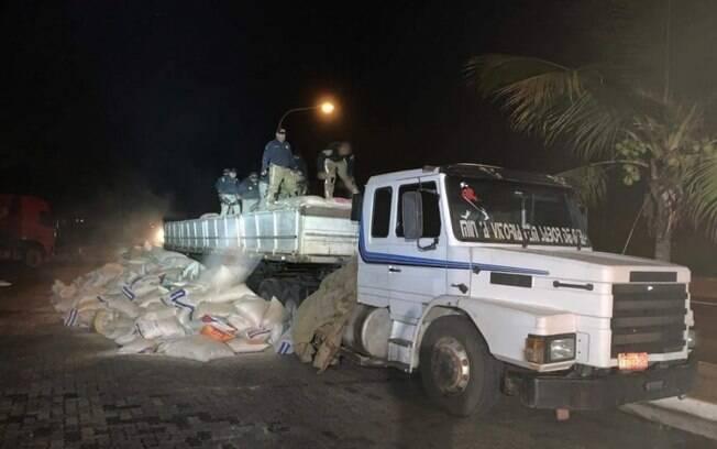 Polícia Rodoviária apreendeu 5,2 toneladas de maconha, no Rio de Janeiro