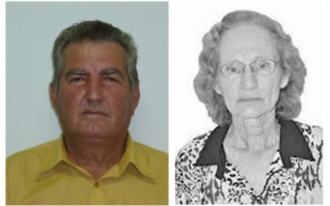 O vereador Valfrido e sua esposa, Maria Vanda, foram encontrados em Santo Expedito