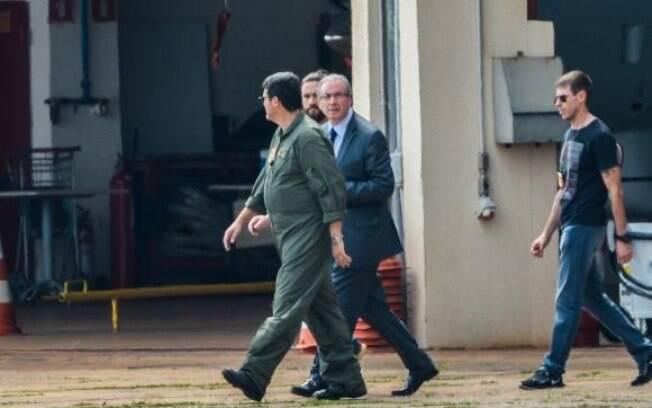 Eduardo Cunha foi preso nesta quarta-feira, após mandato de prisão preventiva de Sérgio Moro
