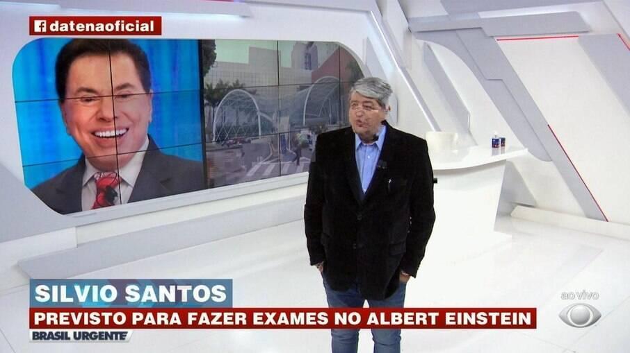 Datena diz que Silvio Santos está com Covid-19; assessoria nega    Celebridades   iG