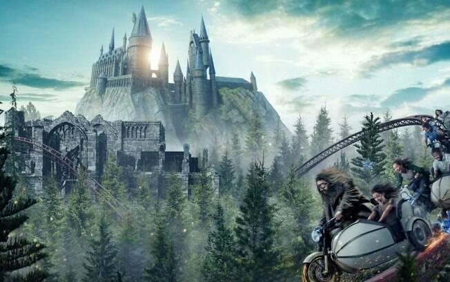 Hagrid's Magical Creatures Motorbike Adventure é a mais recente montanha-russa dos parques da Universal em Orlando