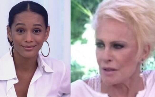 Taís Araújo se recusa a provar prato de Ana Maria Braga no