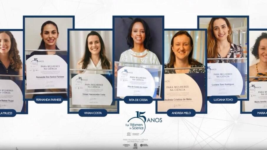 Prêmio mulheres cientistas