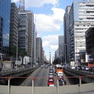 Avenida Paulista, em São Paulo: a capital paulista é a cidade mais cosmopolita do País e abriga gays de todos os estilos