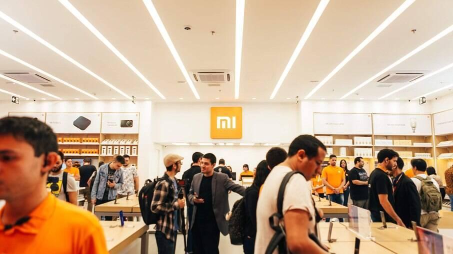 Loja da Xiaomi no Shopping Ibirapuera