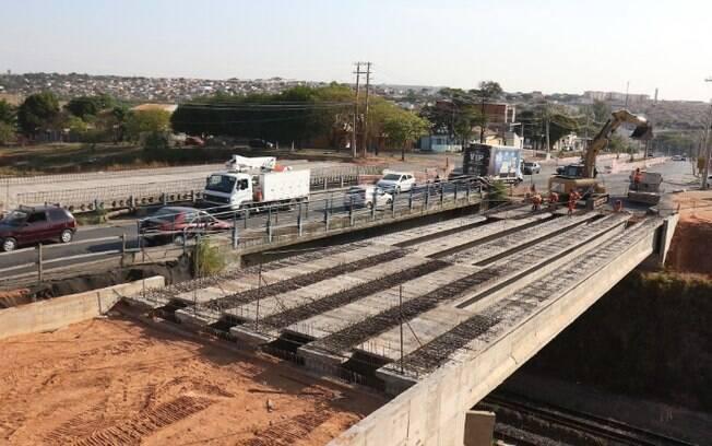 Novo viaduto do BRT na Camucim ficará pronto em novembro