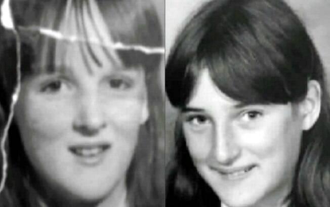 Quando eram jovens, Cara (esq) e Karen (dir) estudavam juntas e eram inseparáveis