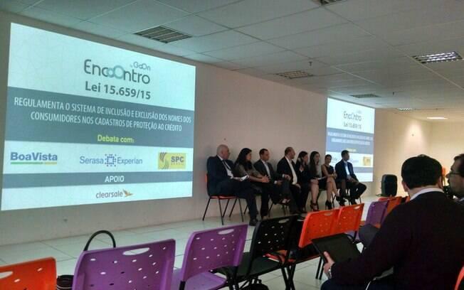 Encontro em São Paulo reuniu representantes dos principais birôs de crédito