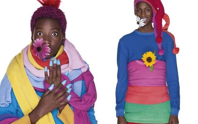 Em nova campanha, modelos de caráter multicultural aparecem vestidos com peças da nova coleção de outono